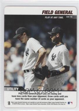 2005 MLB Showdown - Strategy #S44 - Field General (Kevin Brown, Derek Jeter)