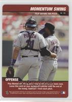 Pedro Martinez, Mike Piazza (Momentum Swing)