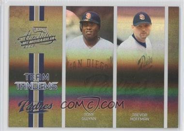 2005 Playoff Absolute Memorabilia - Team Tandems - Spectrum #TT-87 - Tony Gwynn, Trevor Hoffman /150