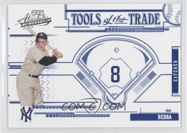 2005 Playoff Absolute Memorabilia - Tools of the Trade - Blue #TT-200 - Yogi Berra /150