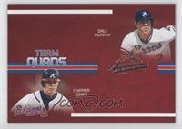Dale Murphy, Chipper Jones, Ryan Klesko /150