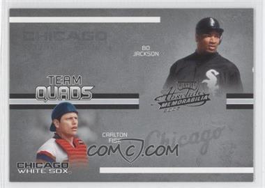 2005 Playoff Absolute Memorabilia [???] #TQ-33 - Robin Ventura, Magglio Ordonez, Carlton Fisk, Bo Jackson /150