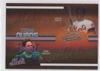 Willie Mays, Mike Piazza, Edgardo Alfonzo, Robin Ventura /100