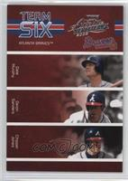 Chipper Jones, David Justice, J.D. Drew, Dale Murphy, Deion Sanders, Gary Sheff…