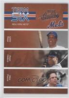 Willie Mays, Roger Cedeno, Mike Piazza, Edwin Almonte, Jay Payton, Robin Ventur…