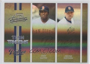 2005 Playoff Absolute Memorabilia Team Tandems Spectrum #TT-87 - Tony Gwynn, Trevor Hoffman /150