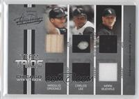 Carlos Lee, Magglio Ordonez, Mark Buehrle /100