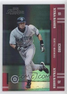 2005 Playoff Prestige - [Base] - Xtra Bases Red #140 - Ichiro Suzuki /150