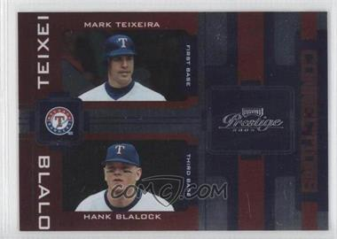 2005 Playoff Prestige - Connections - Foil #C-21 - Mark Teixeira, Hank Blalock /100