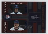 Mark Teixeira, Hank Blalock /100