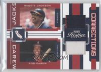 Reggie Jackson, Rod Carew /25