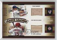 Jim Edmonds, Mark Teixeira /250