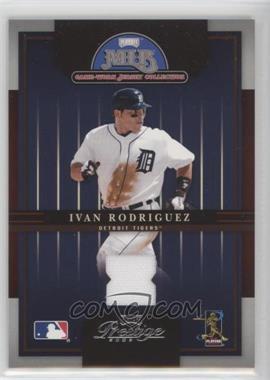 2005 Playoff Prestige - MLB Game-Worn Jersey Collection #7 - Ivan Rodriguez