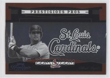 2005 Playoff Prestige - Prestigious Pros - Orange #PP-66 - Albert Pujols /500