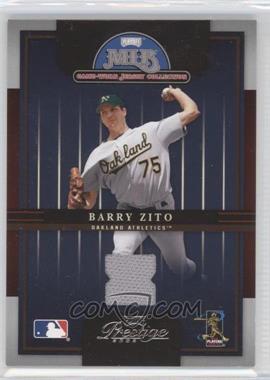 2005 Playoff Prestige [???] #4 - Barry Zito