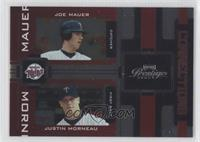 Justin Morneau, Joe Mauer /100