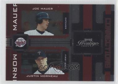 2005 Playoff Prestige [???] #C-18 - Justin Morneau, Joe Mauer /100