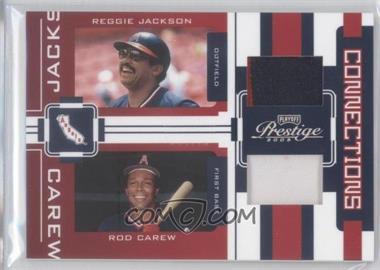 2005 Playoff Prestige [???] #C-22 - Reggie Jackson, Rod Carew /25