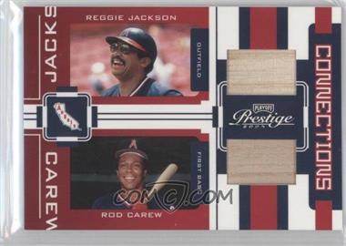2005 Playoff Prestige [???] #C-22 - Reggie Jackson, Rod Carew /250