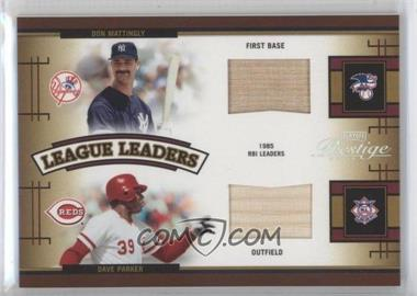 2005 Playoff Prestige [???] #LLQ-5 - Don Mattingly, Dave Parker, Eddie Murray, Dale Murphy /100