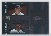 Josh Beckett, Dontrelle Willis /100