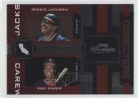 Reggie Jackson, Rod Carew /100