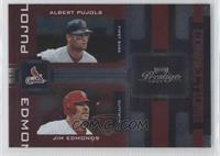 Albert Pujols, Jim Edmonds /100
