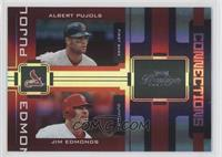 Albert Pujols, Jim Edmonds /25