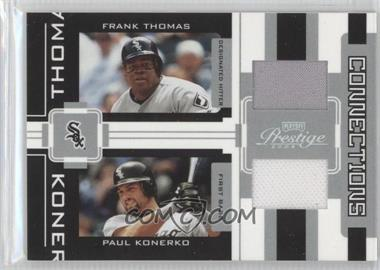 2005 Playoff Prestige Connections Jerseys [Memorabilia] #C-17 - Frank Thomas, Paul Konerko /250