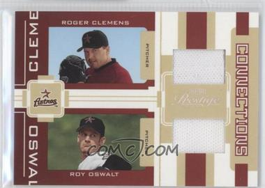 2005 Playoff Prestige Connections Jerseys [Memorabilia] #C-6 - Roger Clemens /250
