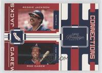 Reggie Jackson, Rod Carew