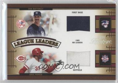 2005 Playoff Prestige League Leaders Quads Bats [Memorabilia] #LLQ-5 - Don Mattingly, Dave Parker, Eddie Murray, Dale Murphy /100