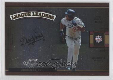 2005 Playoff Prestige League Leaders Single Foil #LLS-3 - Adrian Beltre /100