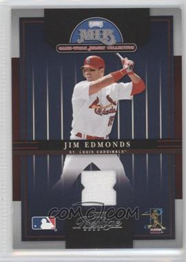 2005 Playoff Prestige MLB Game-Worn Jersey Collection #1 - Jim Edmonds