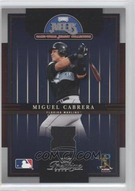 2005 Playoff Prestige MLB Game-Worn Jersey Collection #10 - Miguel Cabrera