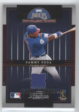2005 Playoff Prestige MLB Game-Worn Jersey Collection #15 - Sammy Sosa