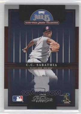 2005 Playoff Prestige MLB Game-Worn Jersey Collection #16 - C.C. Sabathia