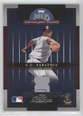 2005 Playoff Prestige MLB Game-Worn Jersey Collection #16 - CC Sabathia