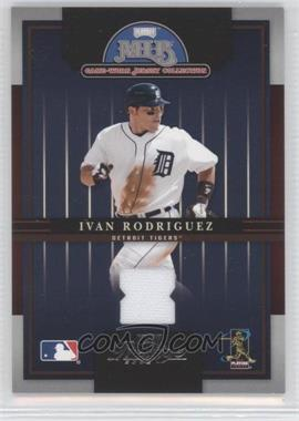 2005 Playoff Prestige MLB Game-Worn Jersey Collection #7 - Ivan Rodriguez