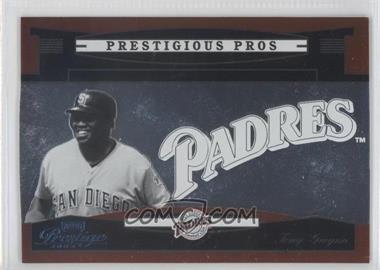 2005 Playoff Prestige Prestigious Pros Orange #PP-82 - Tony Gwynn /500