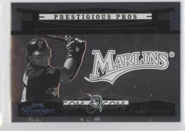2005 Playoff Prestige Prestigious Pros Platinum #PP-33 - Miguel Cabrera /25