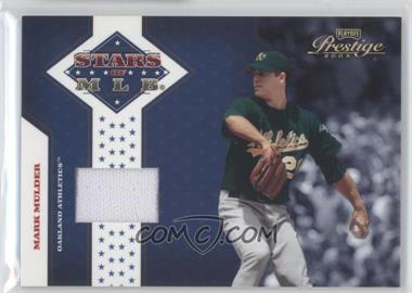 2005 Playoff Prestige Stars of MLB Jerseys [Memorabilia] #MLB-11 - Mark Mulder /100
