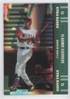 2005 Playoff Prestige Xtra Bases Green #127 - Vladimir Guerrero /50