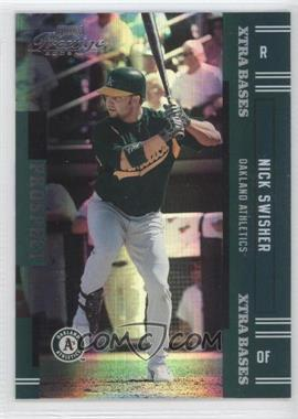 2005 Playoff Prestige Xtra Bases Green #154 - Nick Swisher /50