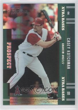 2005 Playoff Prestige Xtra Bases Green #173 - Casey Kotchman /50