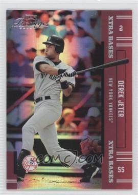 2005 Playoff Prestige Xtra Bases Red #2 - Derek Jeter /150