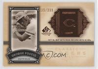 George Foster /399