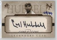 Carl Hubbell /99