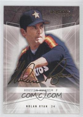 2005 Skybox Autographics - [Base] - Insignia #61 - Nolan Ryan /150