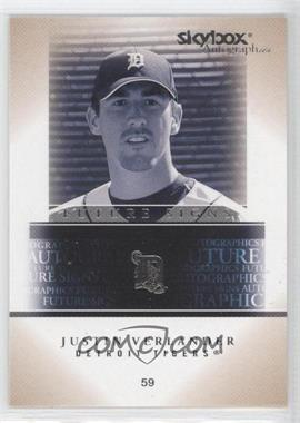 2005 Skybox Autographics - Future Signs #16 FS - Justin Verlander
